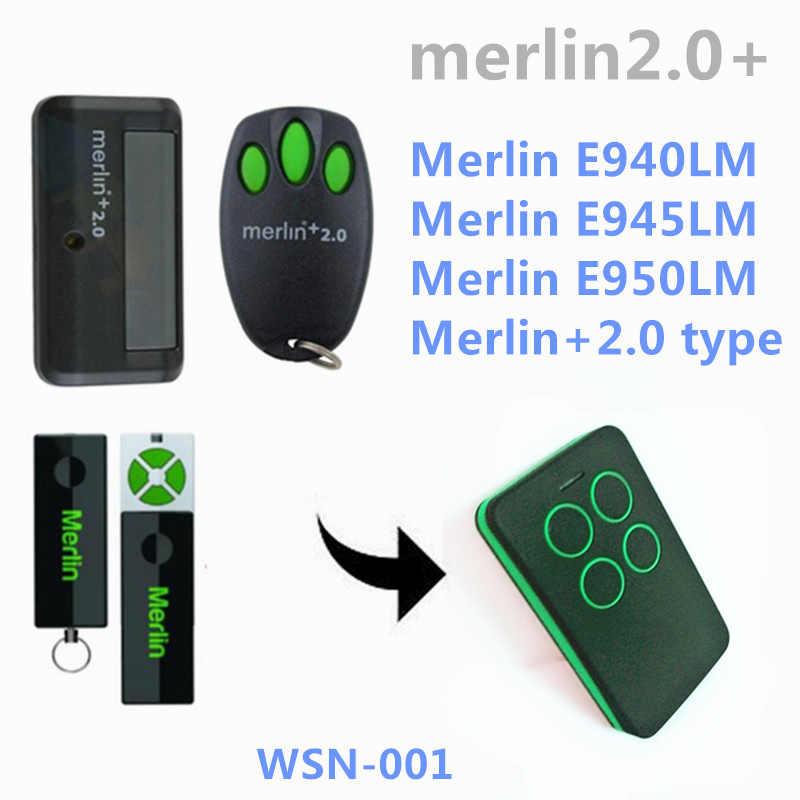 Free shipping merlin+2 0 Remot control E945,E950,E943, MT100EVO Security  +2 0, MT60EVO Security +2 0 Plus replacement remote