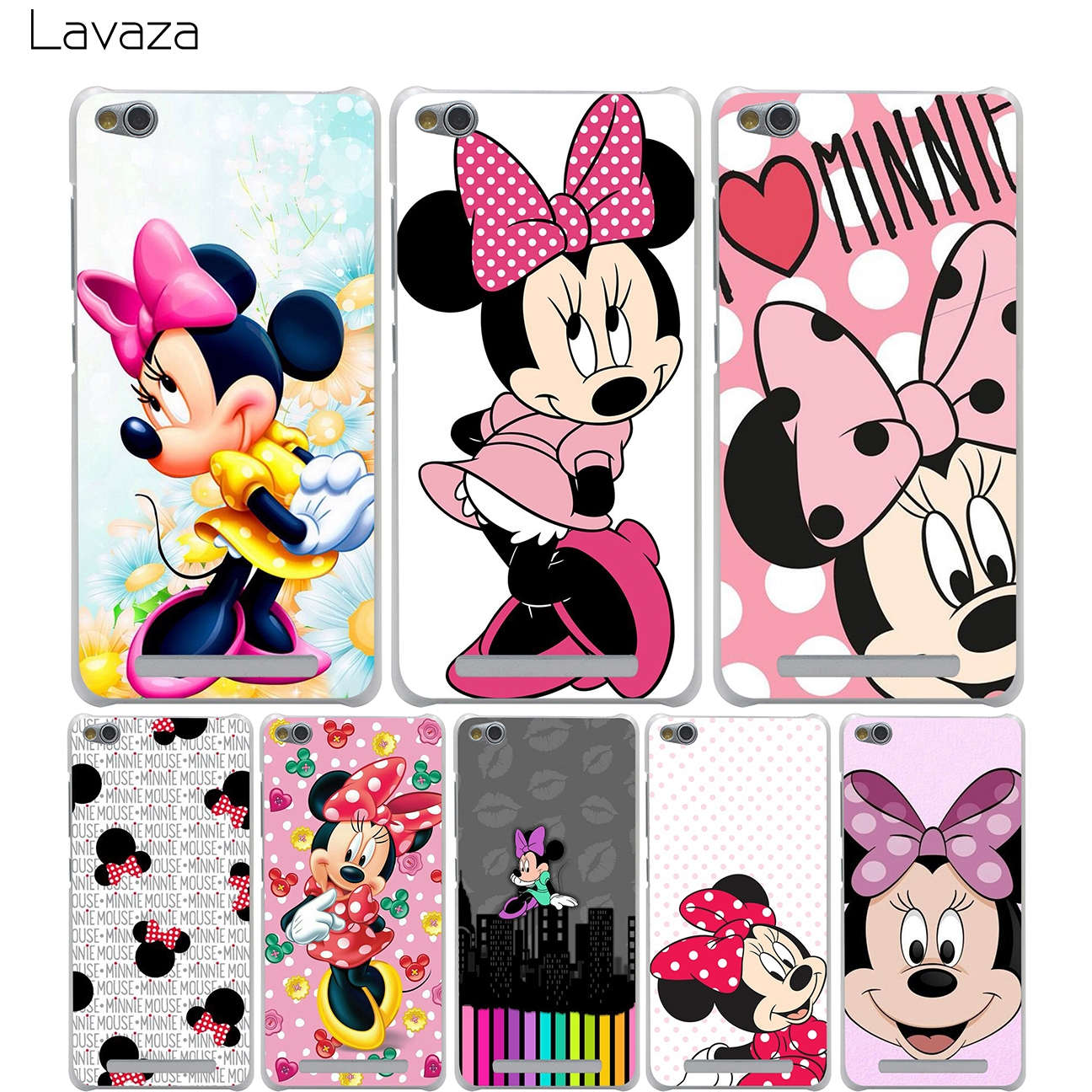 Lavaza Minnie Mouse Cover Case For Xiaomi Redmi Note Mi 3 3s 4x 4 4a Headseat Putih Mix Pro Por Atacado Em Lotes De Iboann Dos Desenhos Animados 3d Mickey Silicone Suave Capa Gel