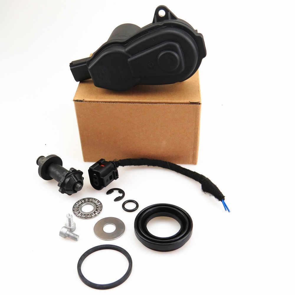 FHAWKEYEQ silnika tylnego koła silnik serwo hamulca ręcznego zacisk i podłączyć wtyczkę kabla i śruba podkładka do A5 Q5 A4 32335478 1J0 973 722A