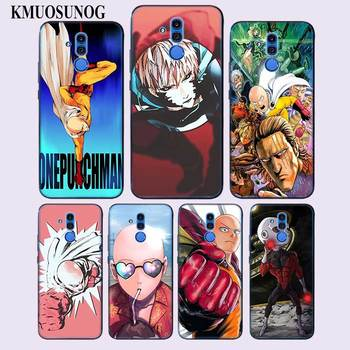 Transparent Soft Silicone Phone Case Cool One Punch Man for Huawei Mate Honor 20 10 9 Pro Lite 7C Cover