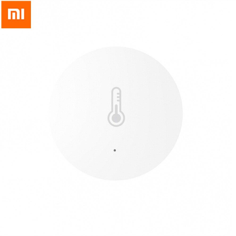 Original Xiaomi Mi Smart Temperature And Humidity Sensor Gateway Control Smart Home Automatic For Android IOS APP датчик xiaomi mi smart home temperature humidity sensor