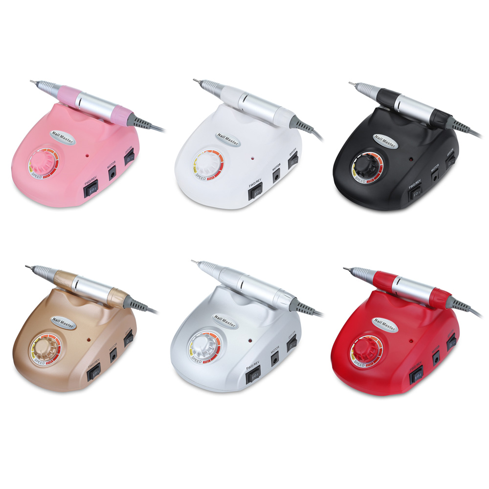 Electric Nail Manicure Tools Pedicure File Polisher Machine Grinding machine Nail tools in Electric Manicure Drills from Beauty Health