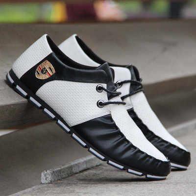 2019 Explosão da Placa Dos Homens Sapatos Da Moda Respirável Sapatos Casuais Leves Frênulo Qualidade Genuína dos homens Das Sapatilhas Sapatos