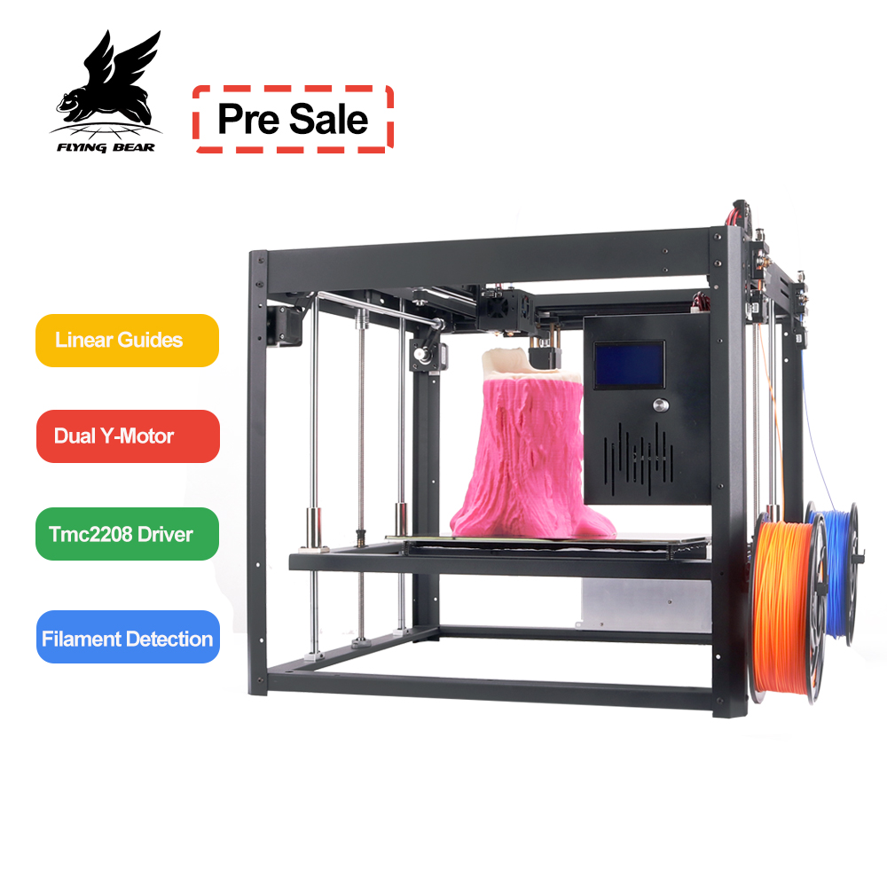 Flyingbear Tornado 2 large 3d Printer DIY Full metal Linear rail 3d printer High Quality Precision