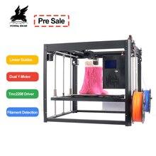 Flyingbear Tornado 2 большой 3d принтер DIY металлический линейный рельс 3d принтер высокое качество точность двойной экструдер