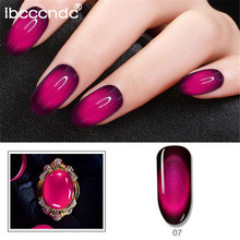 IBCCCNDC 10ml 3D Cat Eye Gem Nail Polish Magnetic Gel Soak Off Semi Vernis Permanant Varnish Lacuqer Gellak