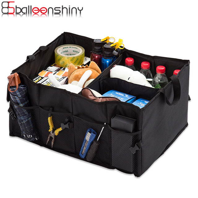 Attrayant BalleenShiny Car Storage Boxes Trunk Organizer Tools Toys Storage Bins  Cubes Basket Bag Styling Auto Containers