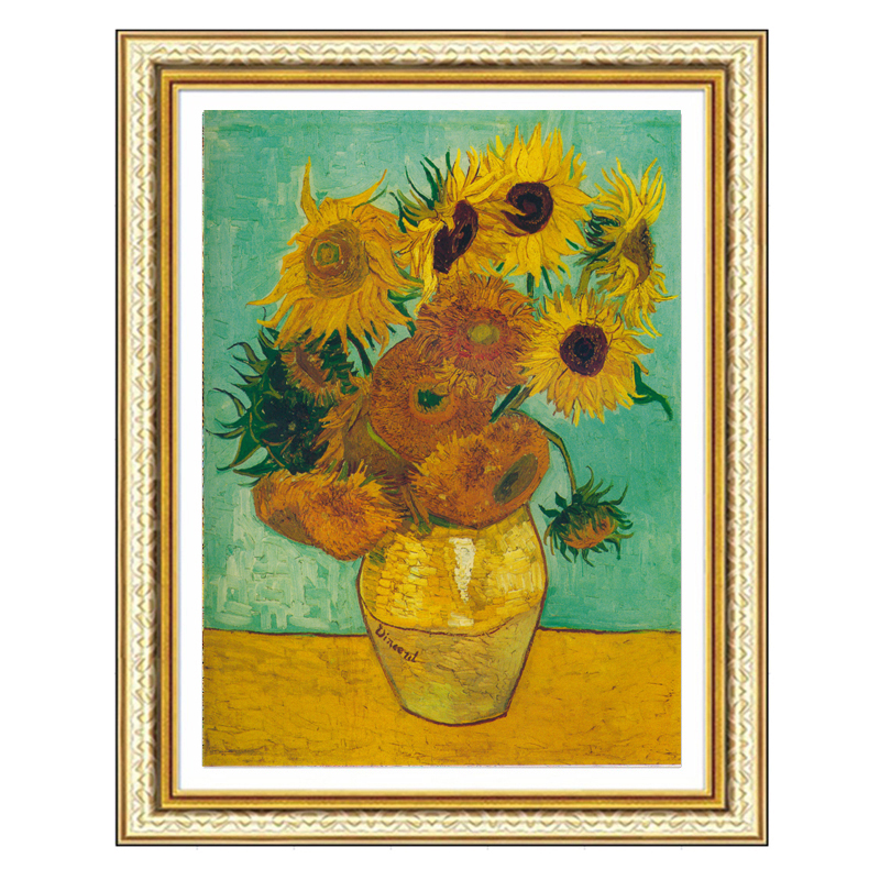 5d Diy Diamond Painting Cross Stitch kit Diamond Embroidery Sunflower Crystal Square Diamond Mosaic Full Drill Needlework F