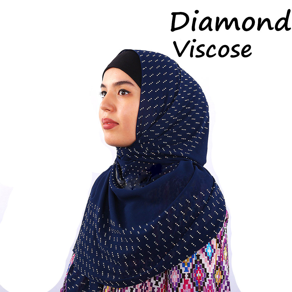M23 High qualiuty diamond viscose hijab   scarf   shawl 180*80cm women   scarf  /  scarves     wrap   headband 10pcs/lot can choose colors
