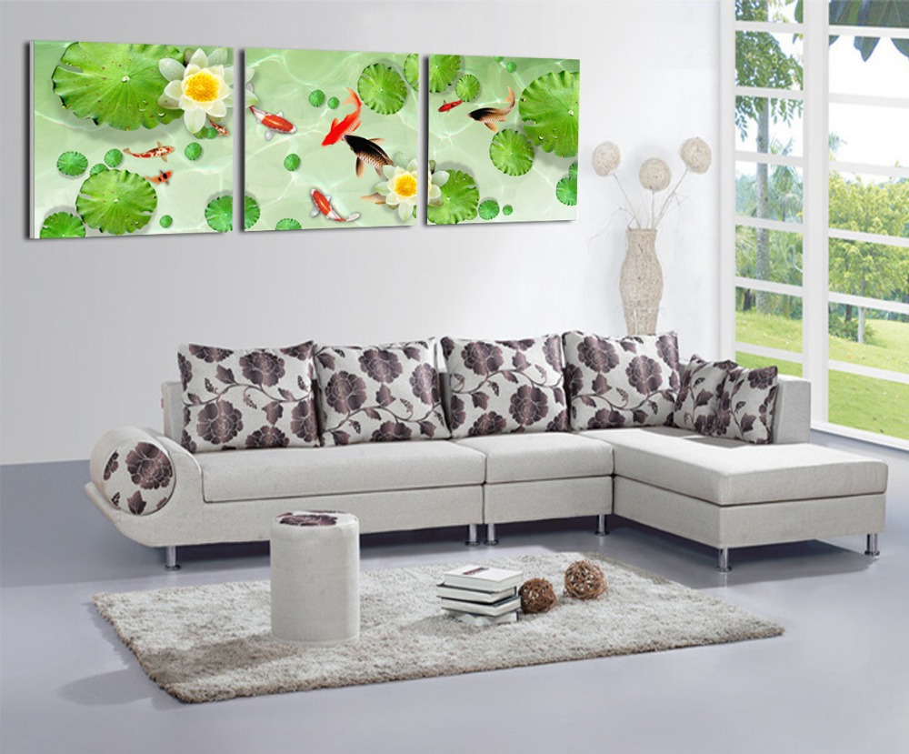 Wall Art For Living Room Compare Prices On Koi Art Prints Online Shopping Buy Low Price