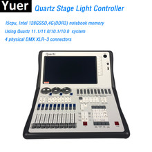 Stage Lighting Console DMX512 Controller Quartz 11.1/11.0 System Super Compact For Dj Light Disco Moving Head LED Par Console(China)