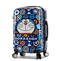 20,24 inch ABS+PC Travel bag High quality zipper rolling luggage  TSA Cartoon children luggage