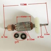 AC220-240V Armature Rotor motor replacement for MAKITA 9553HB 9553HN 9554NB 9553HN 9555HN 9553NB 9555NB 9554HN angle grinder стоимость