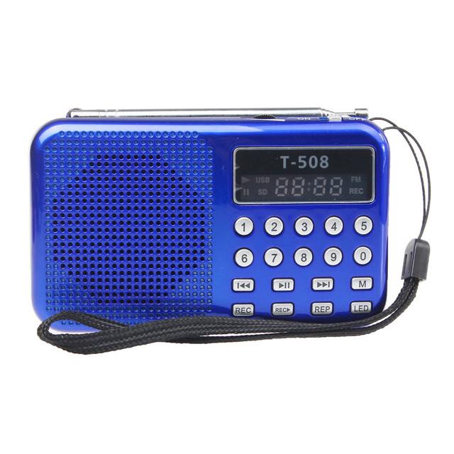 Novo Portátil Digital Stereo Mini Speaker Music Player com Cartão TF USB Rádio FM AUX Entrada de Som de Alta Qualidade # UO