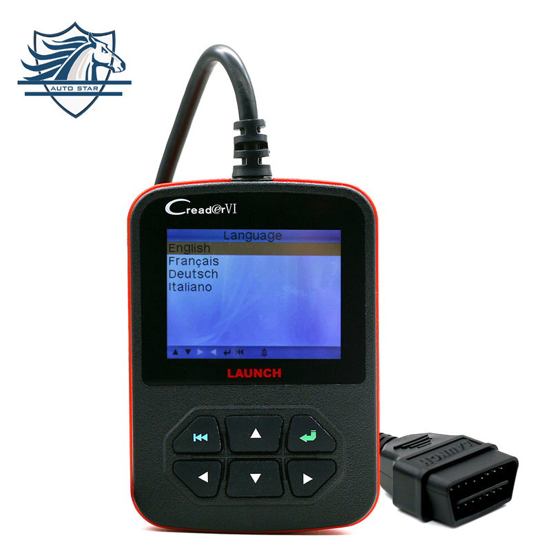 Hot SALE! Lowest Price 100% Original Launch OBD2 Code Reader CReader VI Launch Code Scanner CReader 6 VI In Stock стоимость