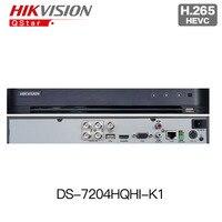 HIKVISION DS 7204HQHI K1 H.265 TURBO 4 DVR replace DS 7204HQHI F1/N 4ch up to 3MP Turbo HD TVI Self adaptive HDTVI/HDCVI/AHD