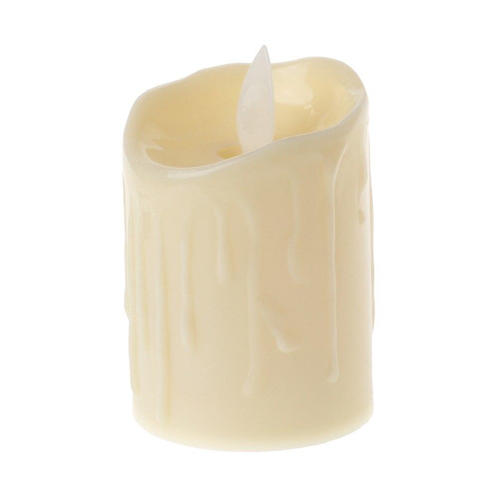6 Love Heart Laser Cut LED Tea Light Candle Holders for Wedding Decor Cream