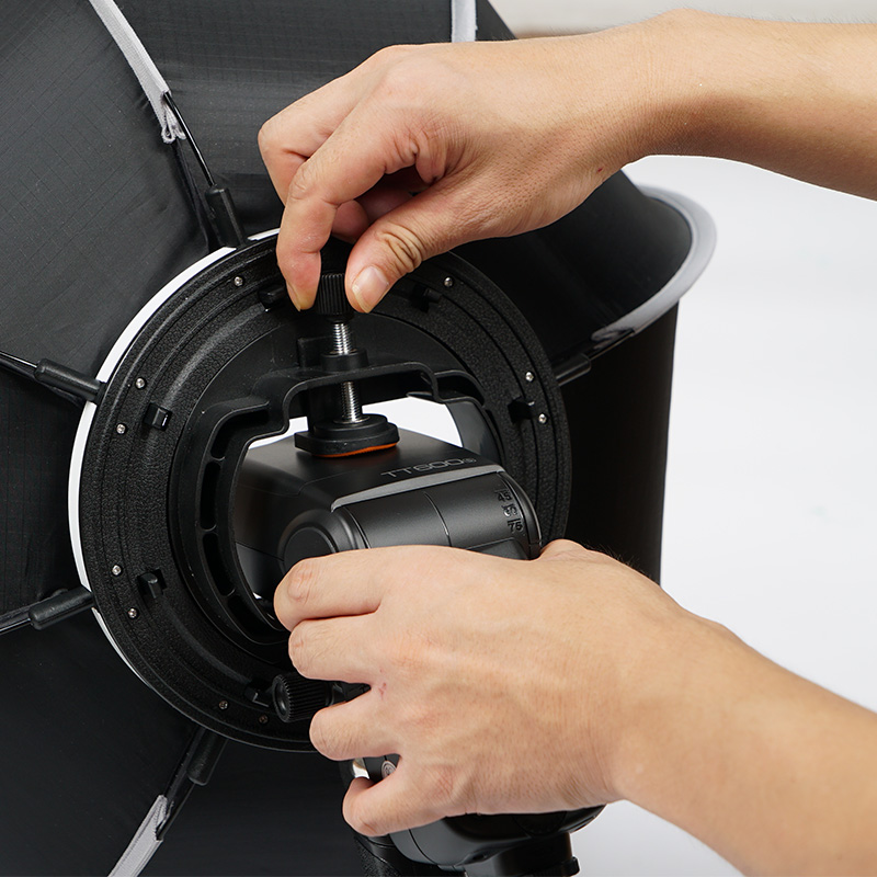 TRIOPO 65 cm Pliable Softbox Octagon Soft box w/Poignée pour Godox Yongnuo Speedlite Flash Lumière photographie accessoires de studio - 5