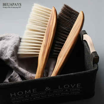 10pcs Wood Crafts Soft Brush Dust Cleaning Brush car Bedroom Broom Sofa Seat Cleaning Brush Antistatic Cleaning Tool decoration