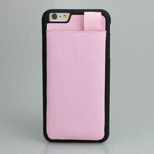 Для iPhone6s Plus Личи Зерна Кожаный Чехол С Карты Карман Для iPhone 6-4.7 «Бумажник Чехол Противоударный крышка