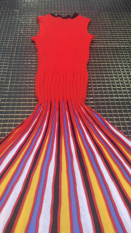 Top Partie Long Robe M Bandage Qualité Sexy 2018 Moulante Tricoté Élastique vrFnvq