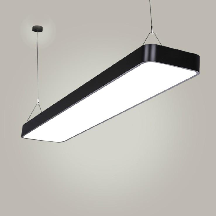 Modern office light Pendant Lights simple LED office long strip