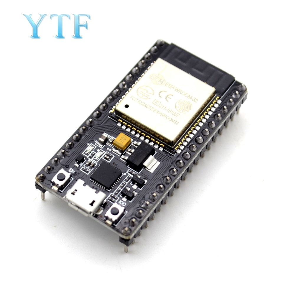 ESP-32 ESP-32S Wireless WiFi Bluetooth Development Board 2.4GHz Micro USB CP2102 Dual Core Module ESP32 With Pins Beyond ESP8266