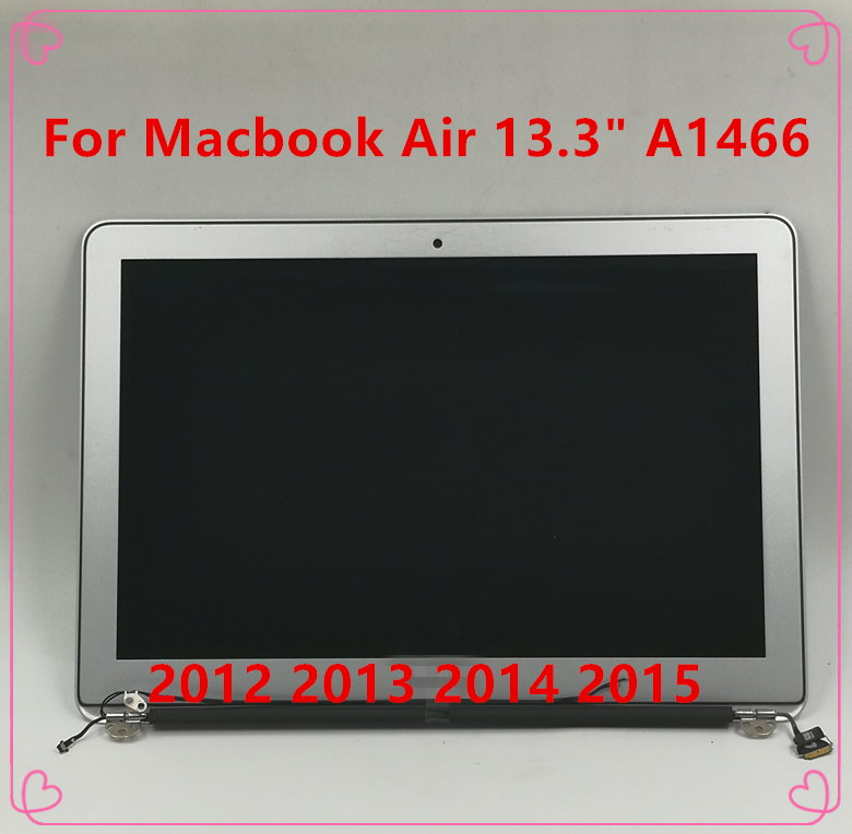 """NEW Original A1466 For Macbook Air 13.3""""LCD Screen Display Full Assembly 2012 2013 2014 2015 Year MD231 MD232 MD760 MJVE2 MQD32(China)"""