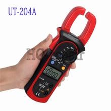 UNI-T UT204A 204 UT-204A Цифровой Токоизмерительные Напряжение AC DC Температура Конденсатора 600A Ток Диода Авто Диапазон Мультиметр
