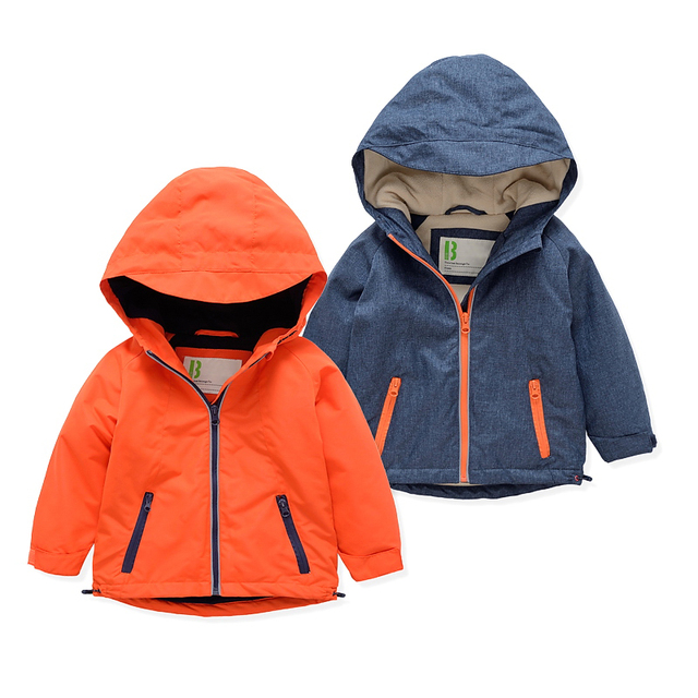 European Style New 2016 winter boy coat children's clothing warm trench thickening kids coat jacket