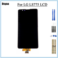 5.7 Inch Display for LG LS775 K520 LCD Display Touch Screen Digitizer Assembly