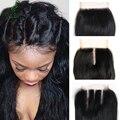 Cabelo virgem peruano reta swiss lace closure 100% humano weave do cabelo macio reta peruano virgem cabelo não mix cabelo peruano