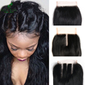 Swiss lace closure pelo peruano de la virgen recta 100% peruana armadura del pelo humano suave pelo peruano virginal recta pelo sin mezcla
