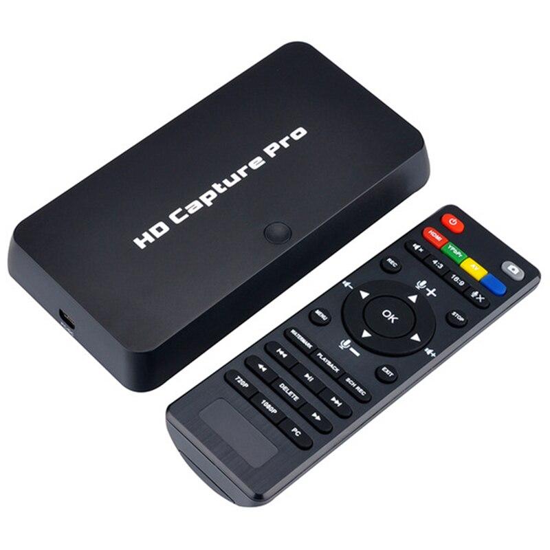 EzCAP 295 HD 1080 P enregistreur de Capture de jeux vidéo USB 2.0 cartes de lecture avec télécommande pour Xbox 360 Xbox One PS4 décodeur Bo