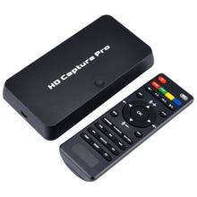 EzCAP 295 HD 1080 P видеоигра записывающее устройство USB 2,0 карты воспроизведения с пультом дистанционного управления для Xbox 360 Xbox One PS4 приставка Бо