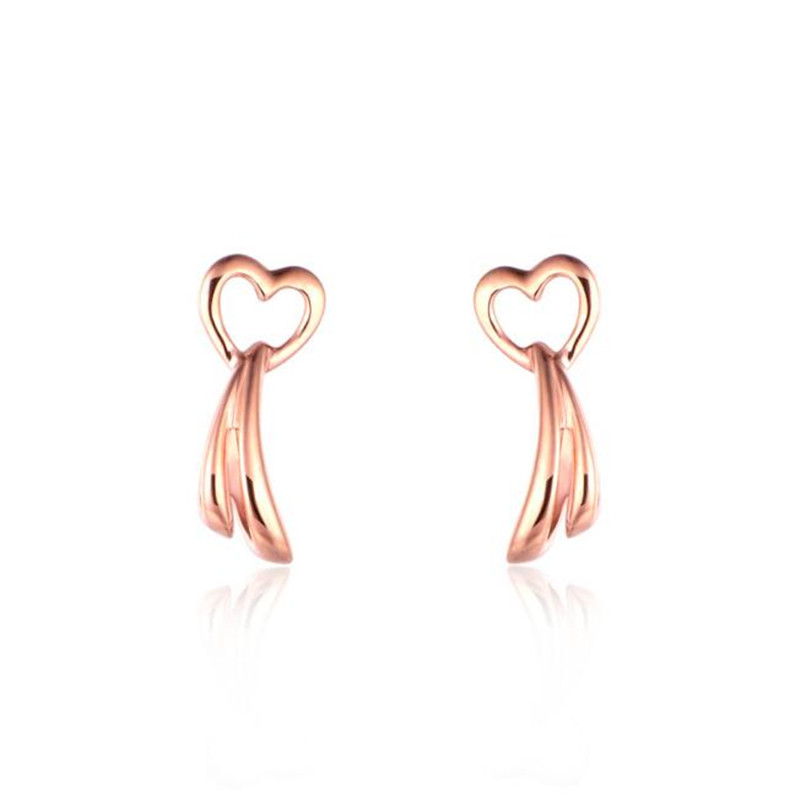 2018 Ethnic Heart Tassel Earrings For Women Bijoux New Fashion Jewelry Classic 18K Gold Jewelry Cute AU750 Gifts2018 Ethnic Heart Tassel Earrings For Women Bijoux New Fashion Jewelry Classic 18K Gold Jewelry Cute AU750 Gifts