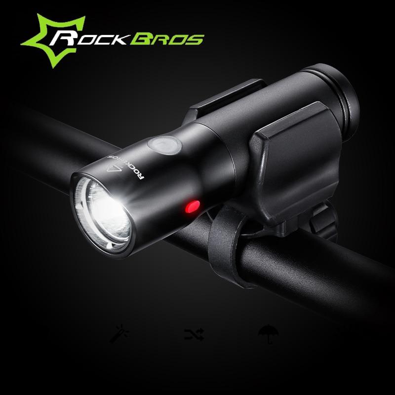 ROCKBROS MTB Light USB újratölthető kerékpár könnyű vízálló - Kerékpározás