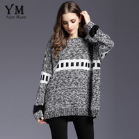 YuooMuoo New Thicken Winter Sweater Women Batwing Sleeve Pullovers Casual High Quality Poncho Big Size Women