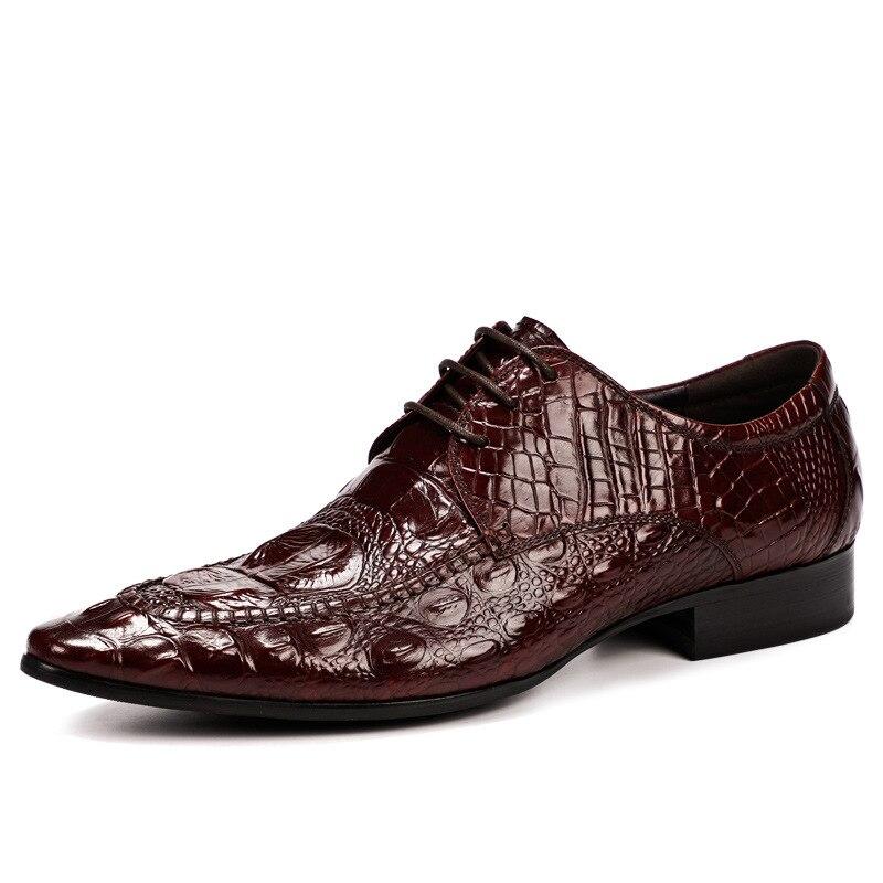 Yaz2019 sapatos clássicos masculinos, estilo moderno, couro