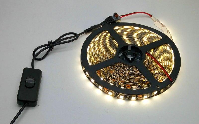 IP20 / IP65 Suya davamlı 5M Qara PCB 5050 LED Strip İşıq Dəsti - LED işıqlandırma - Fotoqrafiya 4