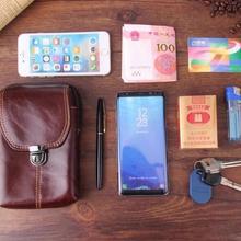 Ремень клип человек из натуральной коровьей кожи мобильный чехол для телефона чехол для sony Xperia X/Z5 Compact/Z5 Premium/ z5 Ultra/Z5 Плюс/M5/Z4V/E4G/T3