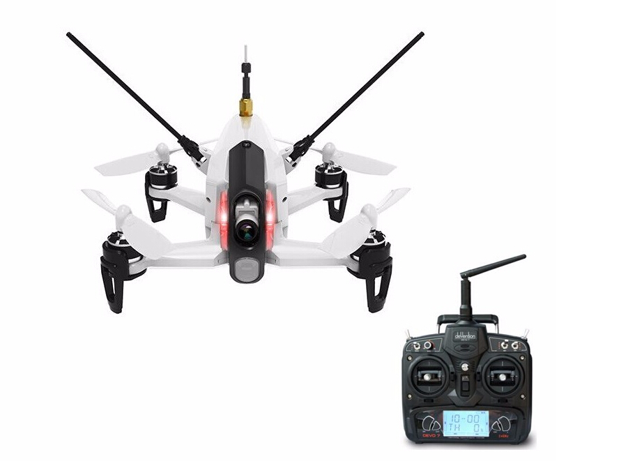 F17997/98 Original Walkera Rodeo 150 Racing Drone + DEVO 7 Remote Control Transmitter + 600TVL Camera RTF BNF walkera rodeo 150 bnf without transmitter rc racing drone with 600tvl night vision camera 150 size