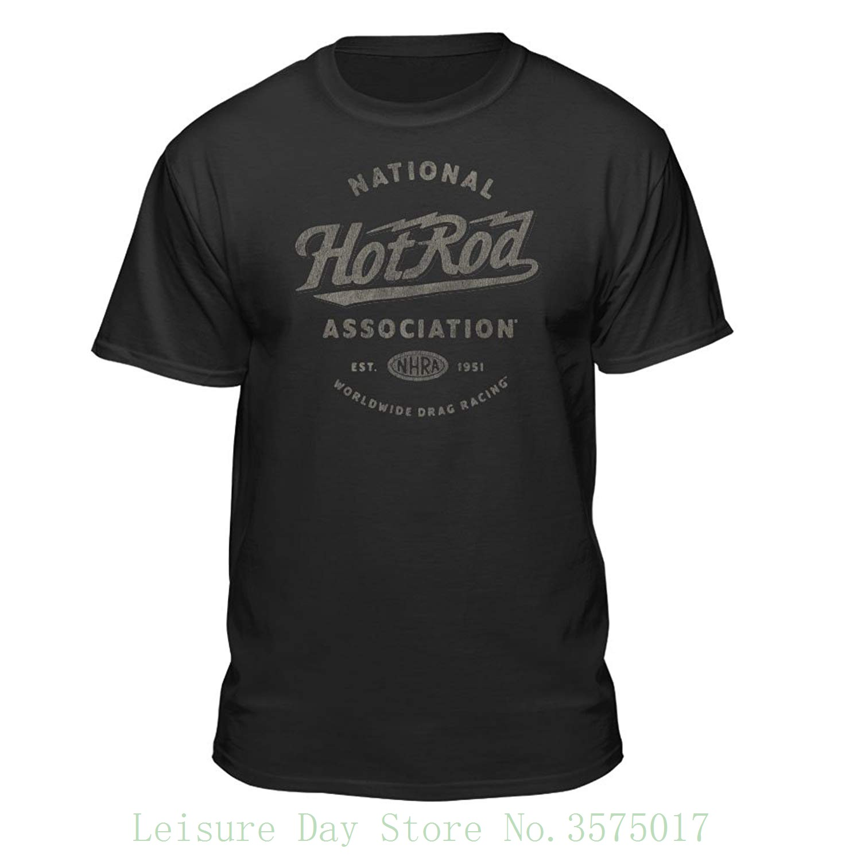 Crankshaft Co Tops & Tees Hot Rod Rat Nostalgia Drag Race Racing Nhra Black Short Sleeve Shirt Men Short Sleeve T Shirt