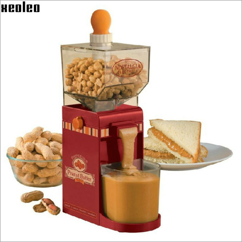 Household  Peanut butter maker Peanut butter machine make Peanut butter Milling machine 220V AU/EU/US/UK Grinding Small Grinder edtid 12kgs 24h portable automatic ice maker household bullet round ice make machine for family bar coffee shop eu us uk plug