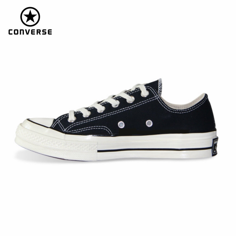 1970s Original Converse All Star Shoes Retro Classic Men Women Unisex Sneakers Low Classic Skateboarding Shoes 144757C