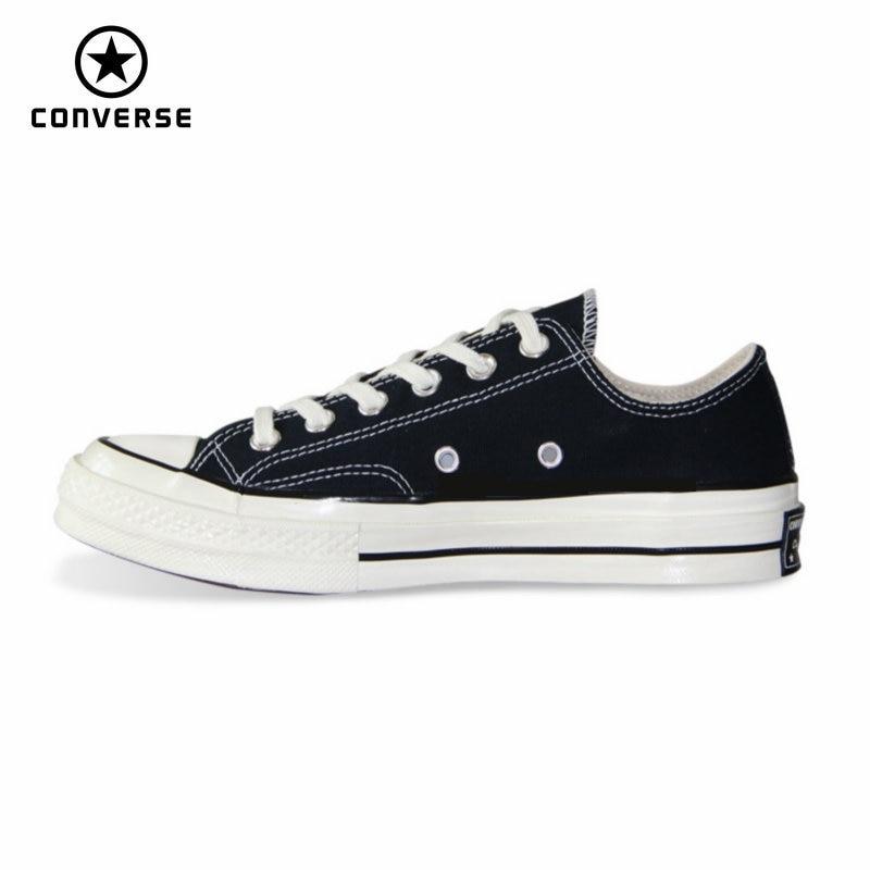 1970s Original Converse All Star Shoes Retro Classic Men Women Unisex Sneakers Low Classic Skateboarding Shoes 144757C