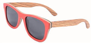 Bamboo Sunglasses Frame Wood-Lens Retro Vintage Men Hot-Sale Women New Z68004 Box-Case