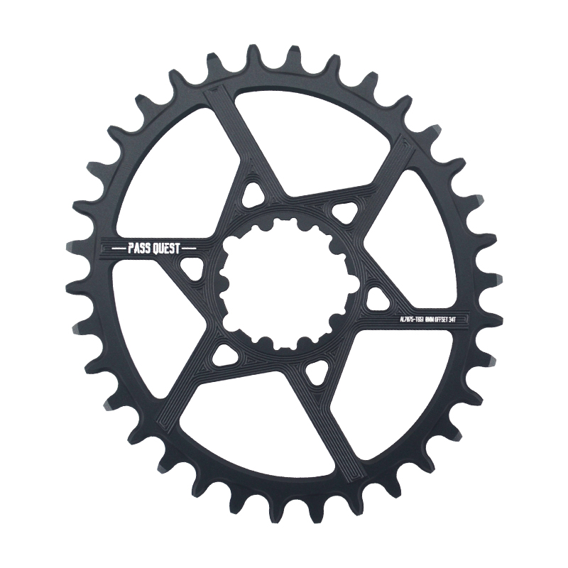 PASS QUEST SRAM gx xx1 eagle GXP MTB Oval Narrow Wide Chainring 32T 40T Bike Bicycle Chainwheel Chain Wheel 0mm Offset Crankset in Bicycle Crank Chainwheel from Sports Entertainment
