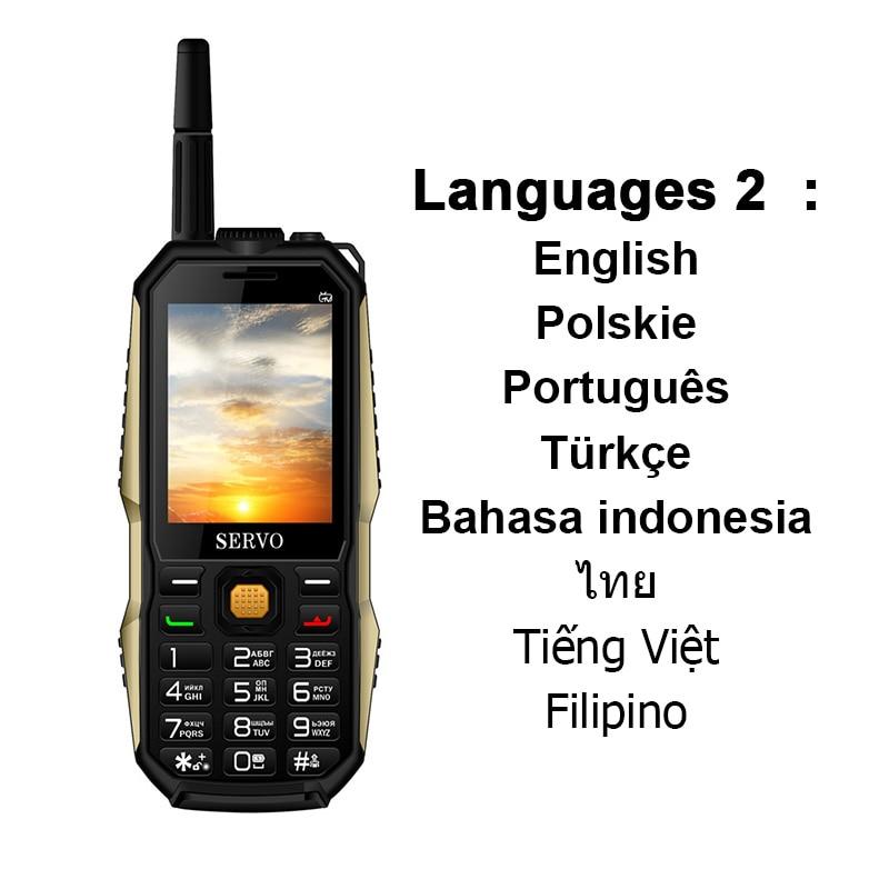 US $35 28 |SERVO P20 Russian keyboard TV mobile phone 4000mAh battery 2 4