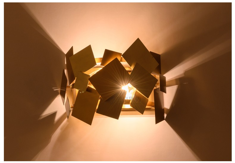 Stainless Steel Square Wall Lamp 24